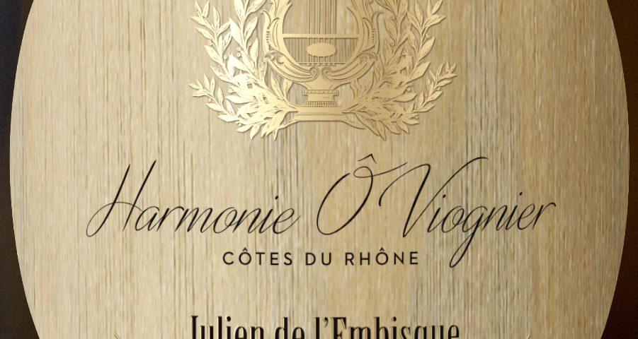 Domaine Julien de l'Embisque en AOC Côtes du Rhône - Cuvée Harmonie