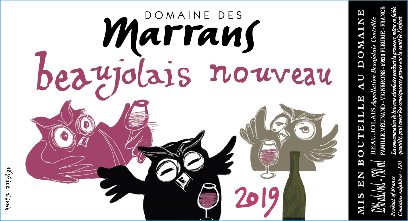 Domaine des Marrans - Beaujolais Nouveau 2019
