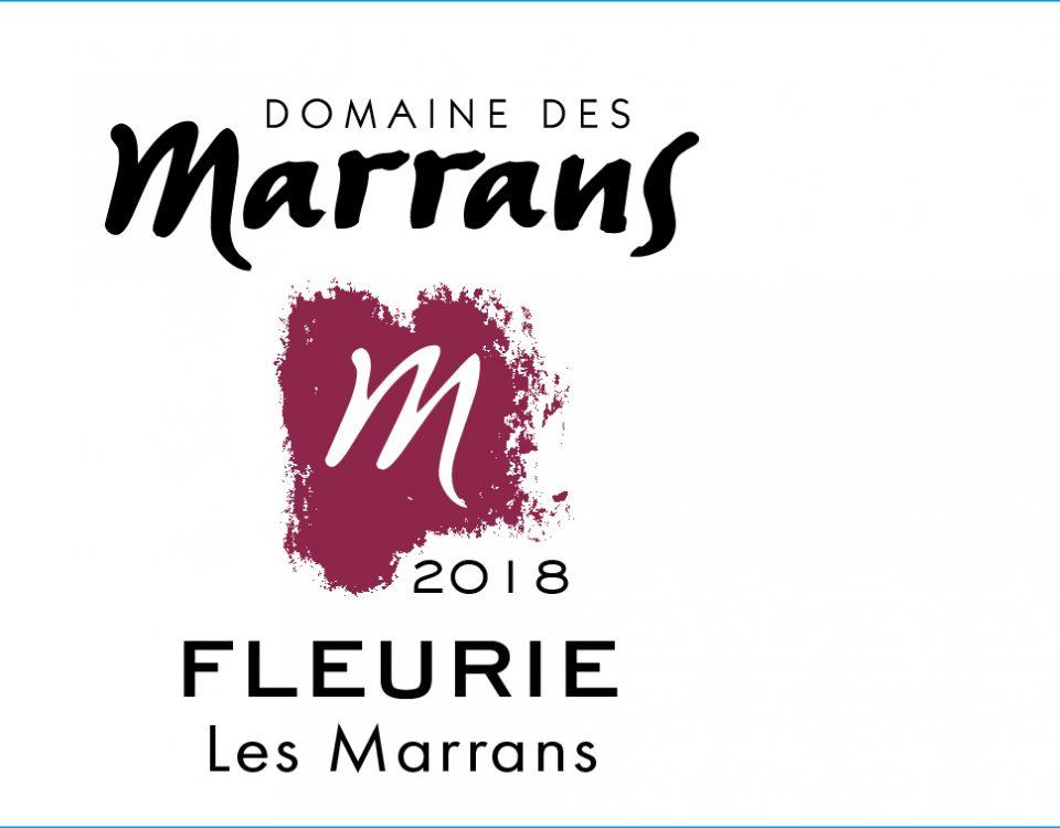Domaine des Marrans - Fleurie 2018